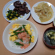 鮭の三色丼