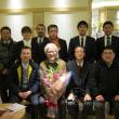母校教員「早川」氏の送別会が開催されました。