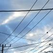 5/20 暗い灰色の雲が流れているのを撮ったけど