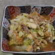 タケノコの煮しめの天ぷら