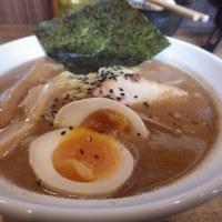 ラーメン サンガ [館山市] / 鰹豚麺 + 担々麺の素 + サンガ式卵かけご飯
