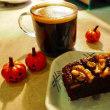 椎茸栽培4日目☆Bench&Mugの『レモン&バジルケーキ』『クルミのチョコレートファッジブラウニー』