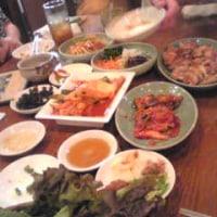 飲み会場所は、韓国料理店