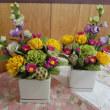 お仏壇の花を作りました