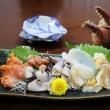 鰯の生姜焼き・貝刺し