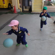 土曜保育 異年齢児 戸外遊び