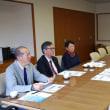 漁業法「改正」問題で県漁連と懇談、農民連が消費税増税中止求め議会請願