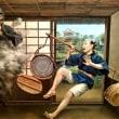石神井ふるさと文化館でトリックアート展