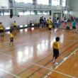 ジュニアバレー練習会 於:小田原城北工業
