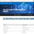 Intel のCPU に新たな脆弱性「投機的実行機能に対するサイドチャンネル攻撃(L1TF,L1 Terminal Fault)」が見つかったようです。
