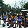 ジョグの後は松江レディースハーフマラソンを応援する。2018山陰の冬ジョグ27
