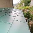 【DIY】トタン葺庇の修繕「本体の設置・完成」