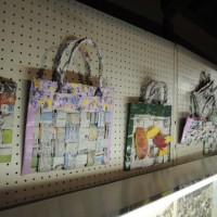 織りの紙バッグ