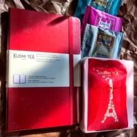 【紅茶】公式『KUSMI TEA』サイトでモレスキンノートブックが貰えるよ♪