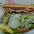 サブウェイ富山黒瀬店でヘルシーサンドイッチ!