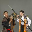 11.15 サムライ(真剣刀法)&チャンバラ体験WS、日本刀を通して、日本を知ろう!