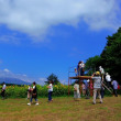 大沼公園近くの『ひまわり畑』8/20