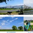 荒川サイクリング道、新田緑地