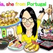 ポルトガルから来たマリア
