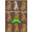 犬のイラスト年賀状と頑張ったYouTube