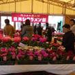 雲州窯登り窯展と斐川シクラメン祭り。