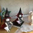 紙粘土の可愛いお人形たち