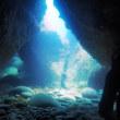 2018年8月2日 ボートダイビング&青の洞窟シュノーケリング♪♪