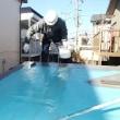 サンルームの軟質のFRP防水の屋根をウレタン防水で改修しました