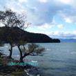 広い琵琶湖、冬間近