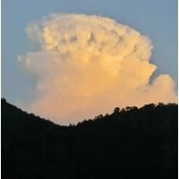 2,018広島、原爆の日の雲