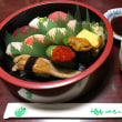 今日のお昼ご飯 出前のお寿司