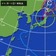 台風18号日本列島縦断