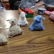 いちごサロン(手芸教室):フェルト布の犬 2017.10.16