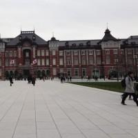 東京駅丸の内側を散策して・・・