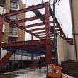 府中市内保育園新築工事の現場報告