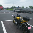 YZF-R125で秋吉台と千畳敷と角島の入口に行ってきた。