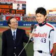 移籍した一場靖弘投手(26)が11日、横浜戦(横浜)に初登板で初先発初勝利を挙げた。