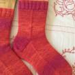 手編み靴下 作品NO.254