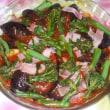 収穫茄子の料理