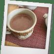 ざる蕎麦とホットチョコレート