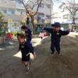 あお 3歳児 戸外・楽器遊び