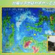 台風5号去る 「台風は予想疑わずやってきた」