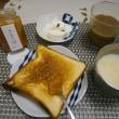 グリルでトースト✨朝ご飯いろいろ