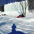 寒すぎる高山のラウベ