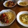 皿から献立、アルモンデ(笑):玉蜀黍とフワフワ卵スープ