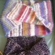 イギリスゴム編みでメビウスネックウォーマー作り