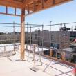 良い家を造って売りたい~わくわく進化!!プロジェクト『 一宮の小さな丘のLong Vacation House 』⌂Made in 外房の家。は、上棟後の大工工事順調進行中!です。