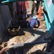 二宮町中里にて給水管取り出し工事
