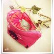 おちゃめゴールデンレトリバーのピンクいっぱい愛いっぱいコインケース by-ジェントルおもろいご主人さまより