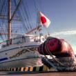日本丸 室蘭港へお立ち寄り